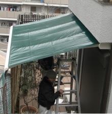 オーニングテント