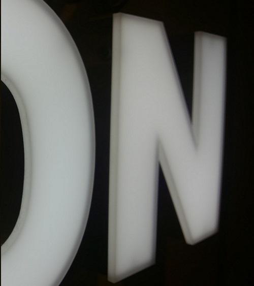 LED箱文字