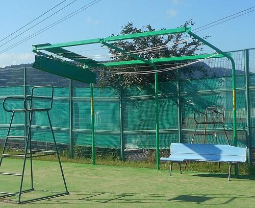 開閉式テント工事