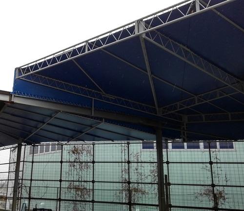 テント張替え施工完了