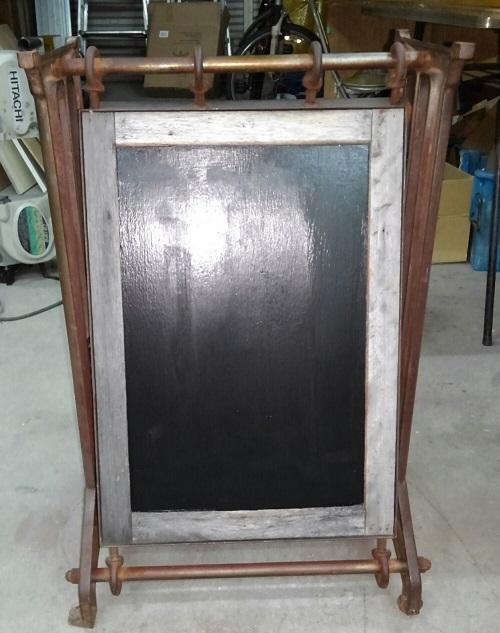 スタンド看板表示面塗装